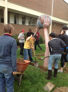 CHS students dig with APO.distorted